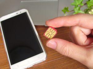 スマートフォンとsimカード